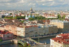 St Petersburg Şehir Merkezi