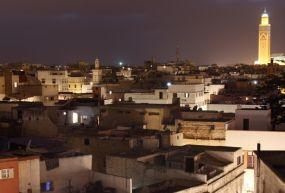 Kazablanka Medina Şehir Merkezi